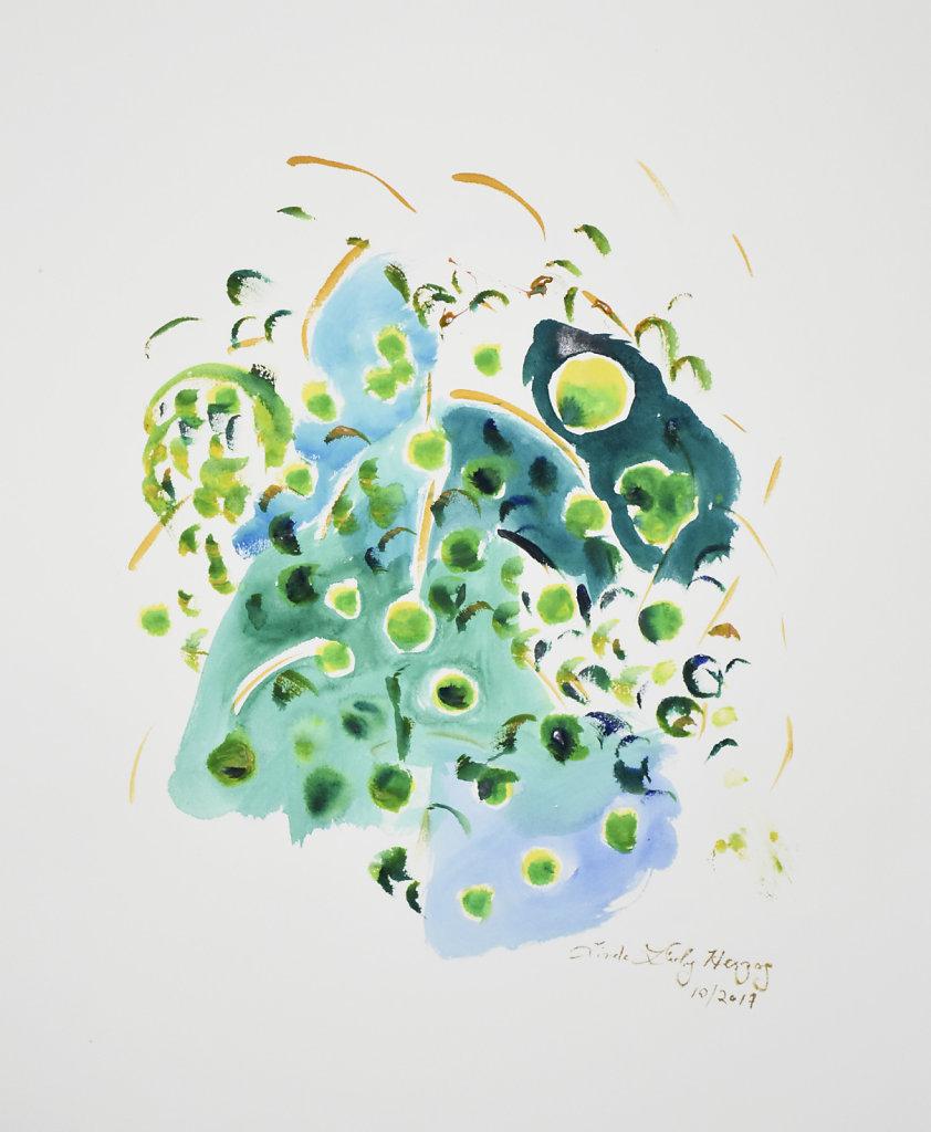 Abstract Gouache #1 2017
