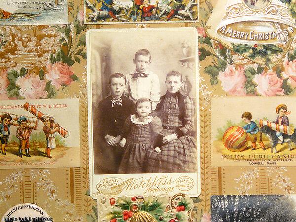 Detail, Thayer Children, Sidney, NY